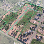 Site Map showing lots for sale in Sierra Vista, Arizona